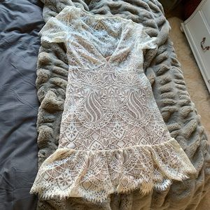 For Love And Lemons Lily Tee lace dress
